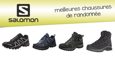 Les meilleures chaussures de randonnée Salomon en septembre 2019